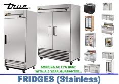 FRIDGES (STAINLESS) by True - K.F.Bartlett LtdCatering equipment, refrigeration & air-conditioning
